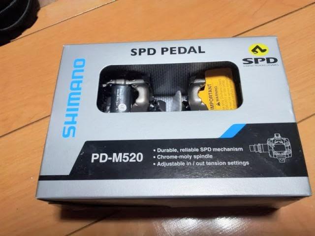 両面SPDペダルPD-M520