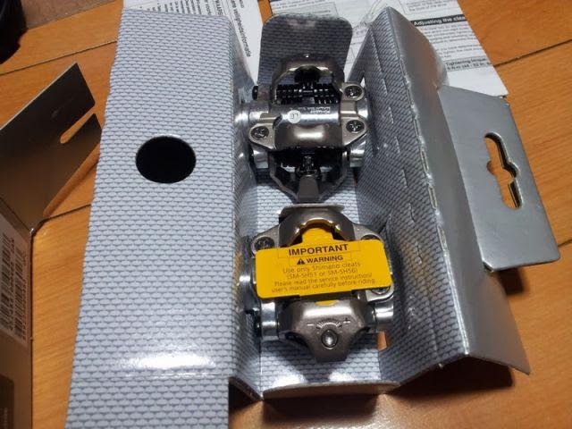 両面SPDペダルPD-M520の箱を開封