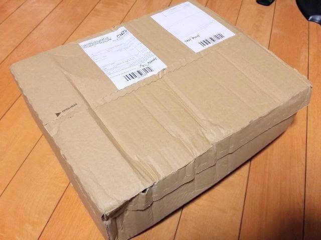 海外通販crcの箱