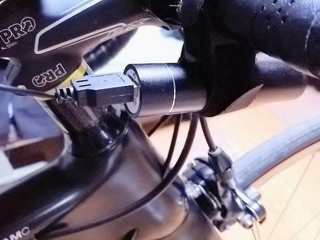 モバイルバッテリーと自転車の固定方法
