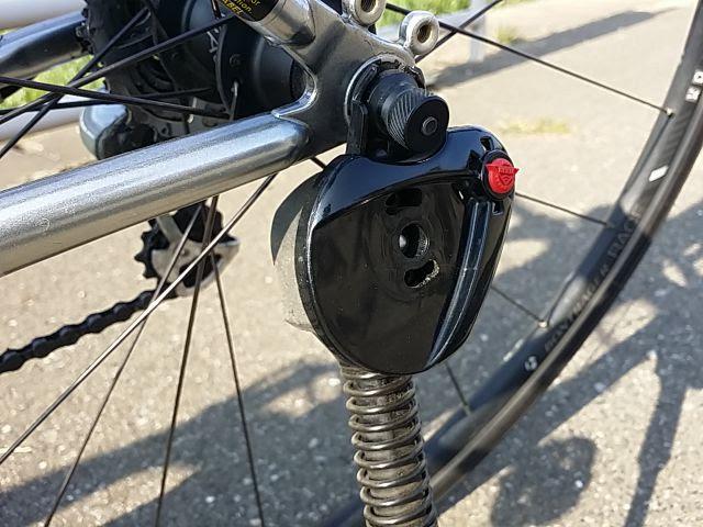 BBBのスキュワーBQR-03をクロスバイクに装着