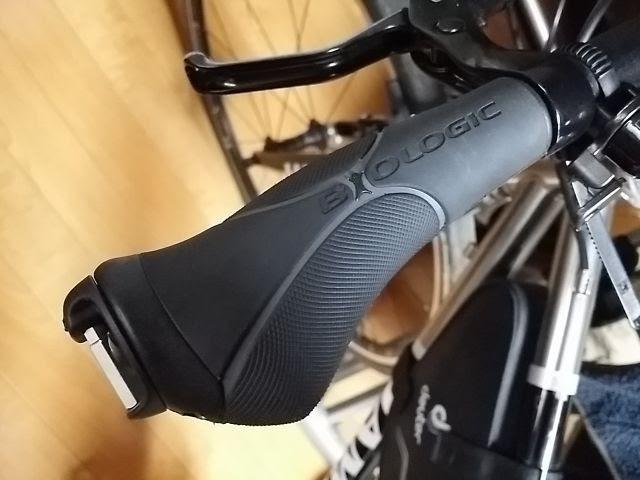 ダホンの自転車用エルゴグリップ、バイオロジック