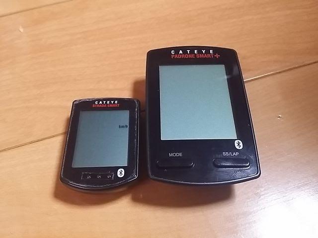 キャットアイのパドローネスマートプラスCC-SC100BとCC-RD500B