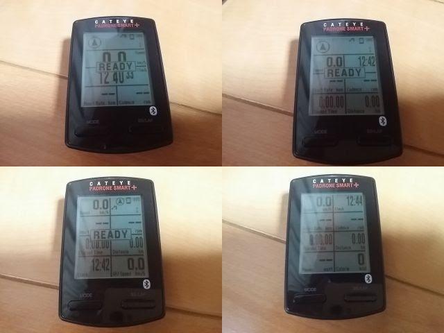 キャットアイCC-SC100Bの画面を5~8分割した状態を比較