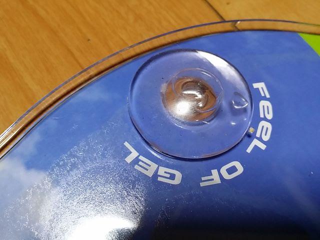 タイオガのサドル、フォルティスのパッケージに付いているサンプルのジェル