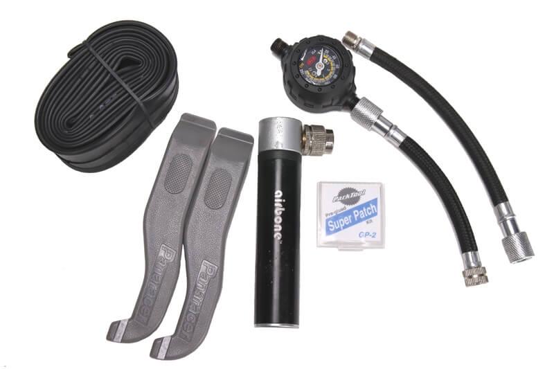 自転車で携帯するべきパンク修理アイテム