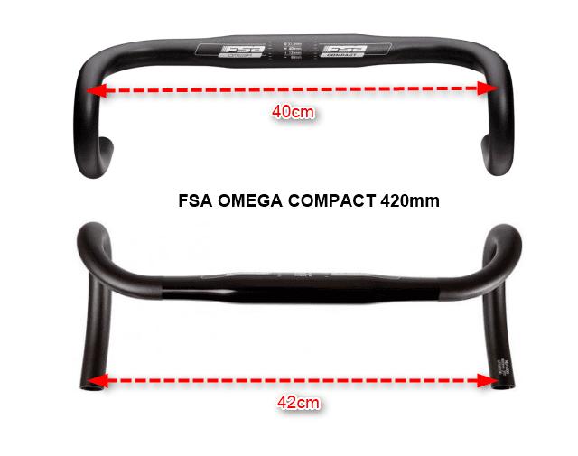 FSAコンパクトハンドルのサイズ