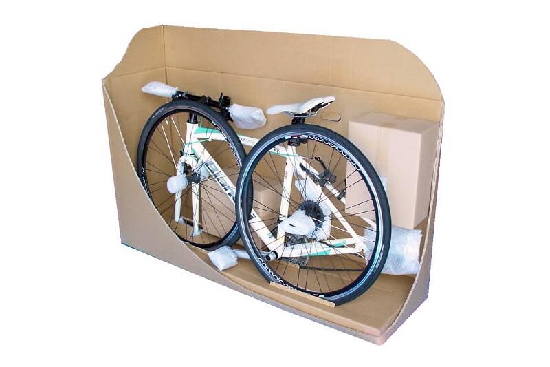 自転車の輸送用ダンボール