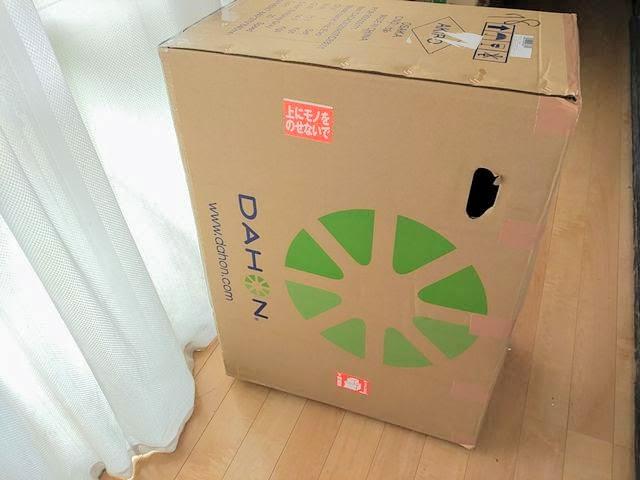ダホン VISC EVOの箱