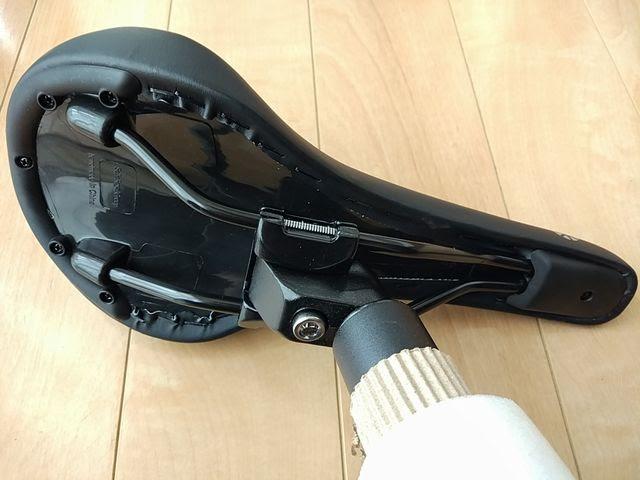 ダホン VISC EVOのシートポストクランプ