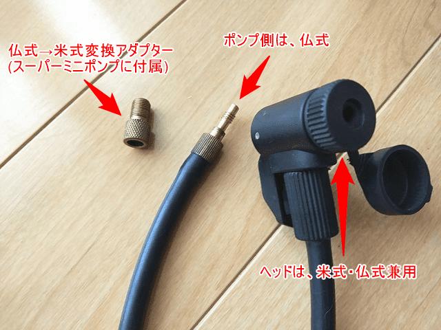 グランジ ポンプアダプターの取り付け方