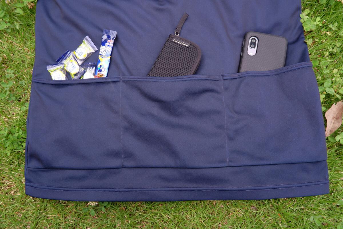 バレット ポケTのバックポケット