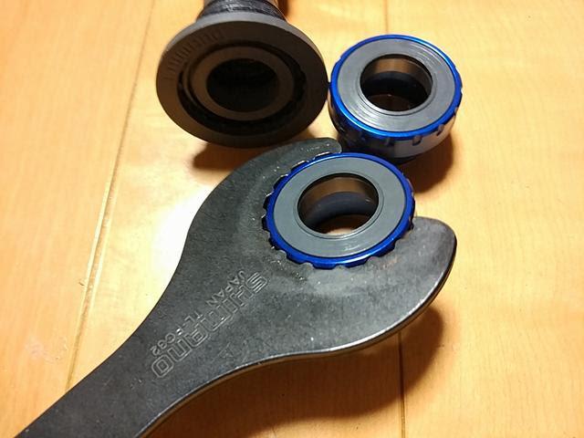 シマノSM-BBR60とトーケンTK878EXの使用工具