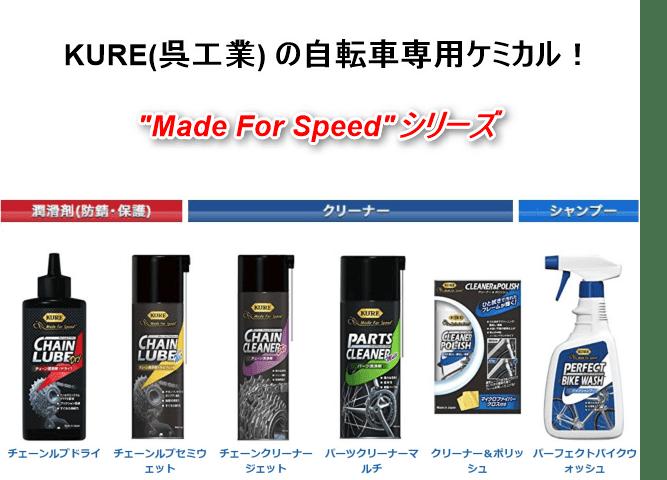 呉工業の自転車専用シリーズ