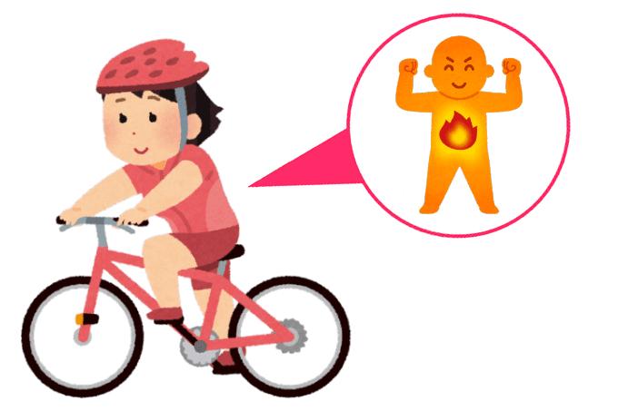 空腹サイクリングで脂肪を燃焼する