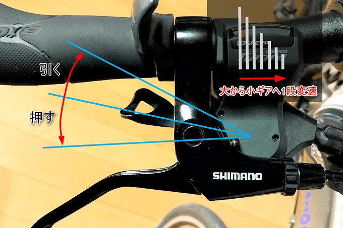 シマノ SL-4700、2ウェイリリース機能