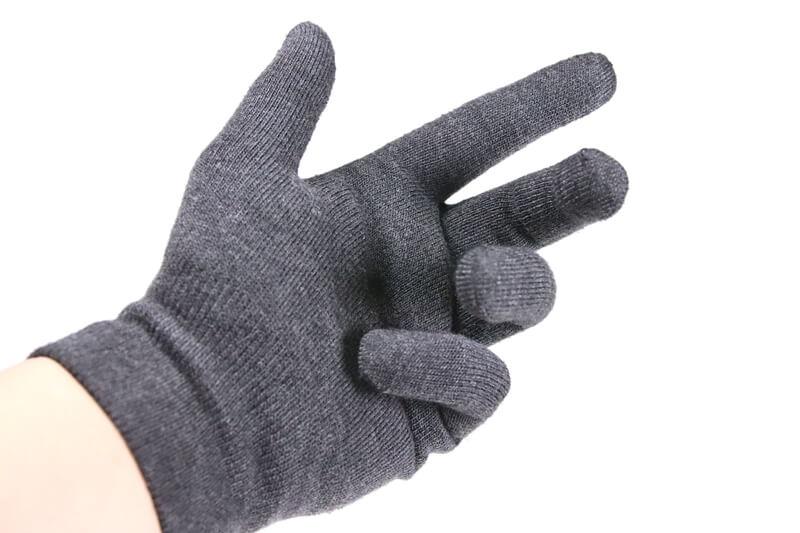 パールイズミのインナーグローブは手が動かしやすい