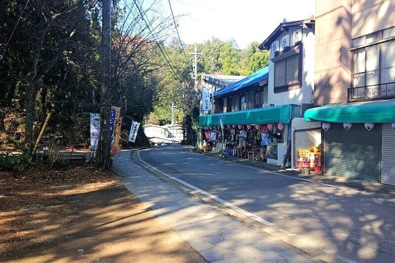 栃木市 太平山の頂上にあるお店