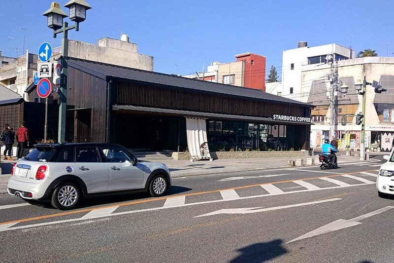 栃木市のスターバックスは蔵造り