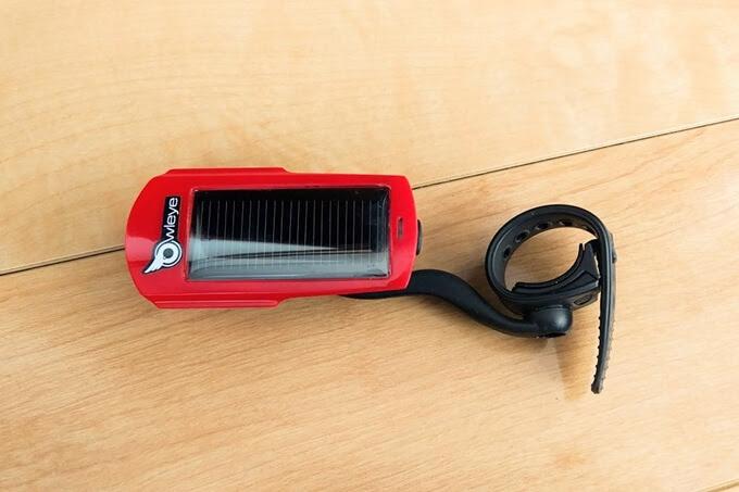 OWLEYE(オールアイ) USB充電対応、自転車テールライト