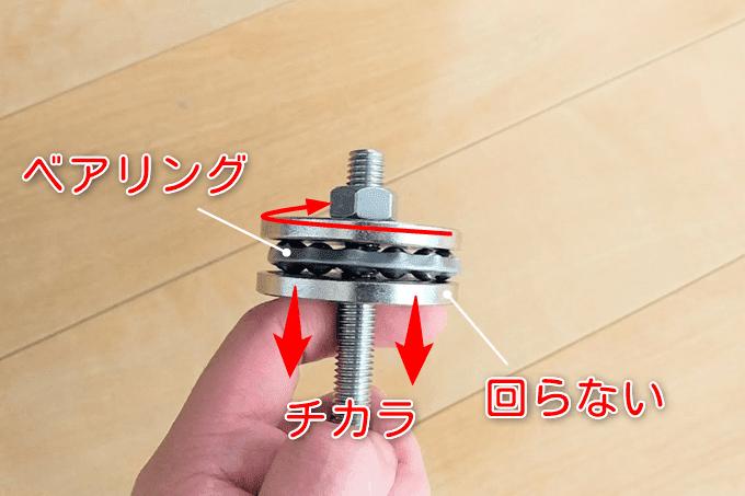 ヘッドセット圧入ツールの仕組み