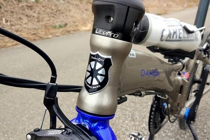 ダホンvisc evoにLiteproのヘッドセットが付いている