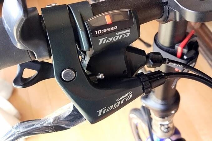 Tiagra BL-4700とSL-4700