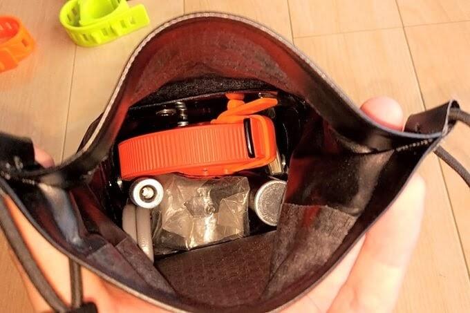 OTTOLOCKをサドルバッグの中に入れてみた
