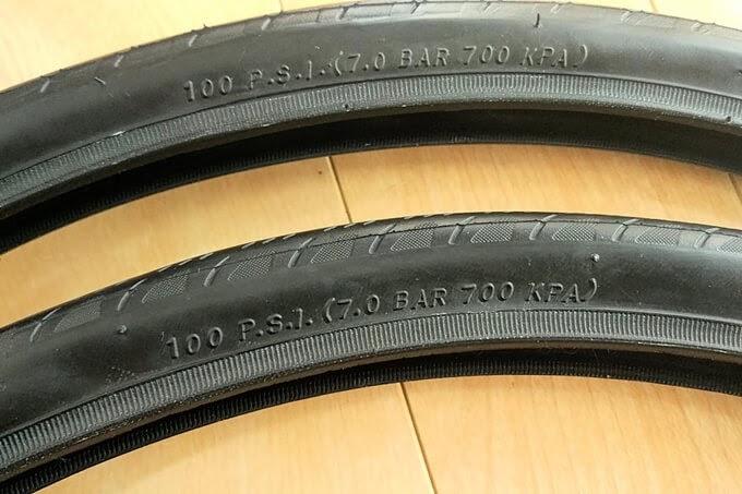 KENDA、451-28Cタイヤ、クリテリウムの推奨空気圧