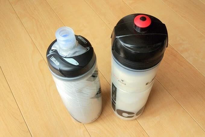 キャメルバッグ ポディウム チルと普通のボトル