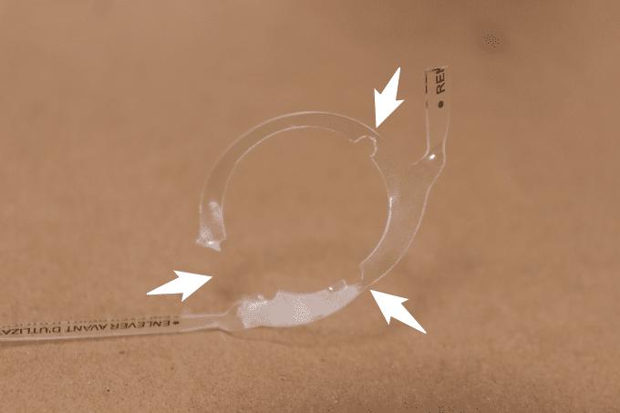 キャメルバック ポディウムの透明タグを外した状態
