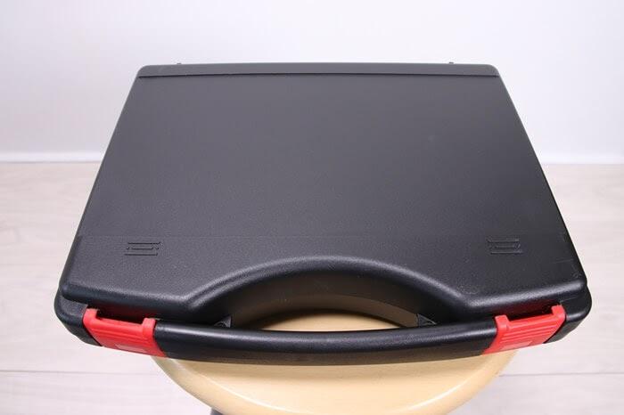デジタル式スポークテンションメーターの樹脂製ケース