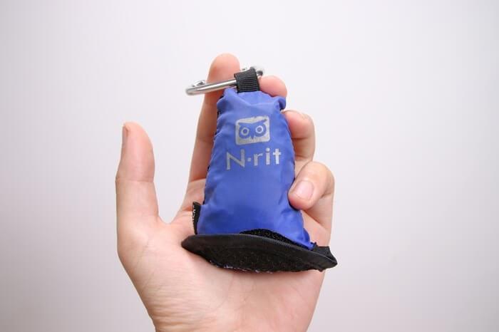 Nrit (エヌリット) カンパックタオルは手のひらサイズ