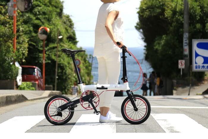 ルノーの折りたたみ自転車