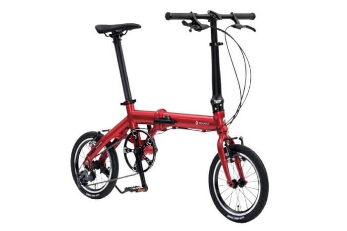 ルノーの折りたたみ自転車、ULTRA LIGHT7 TRIPLE