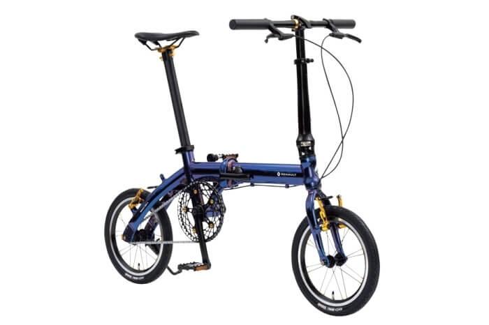 ルノーの折りたたみ自転車、MIRACLE LIGHT6