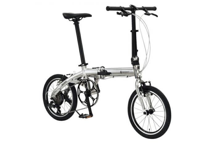ルノーの折りたたみ自転車、PLATINUM LIGHT8