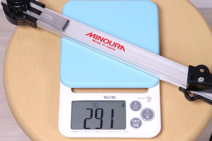 ミノウラ センターゲージ FCG-310、実測重量