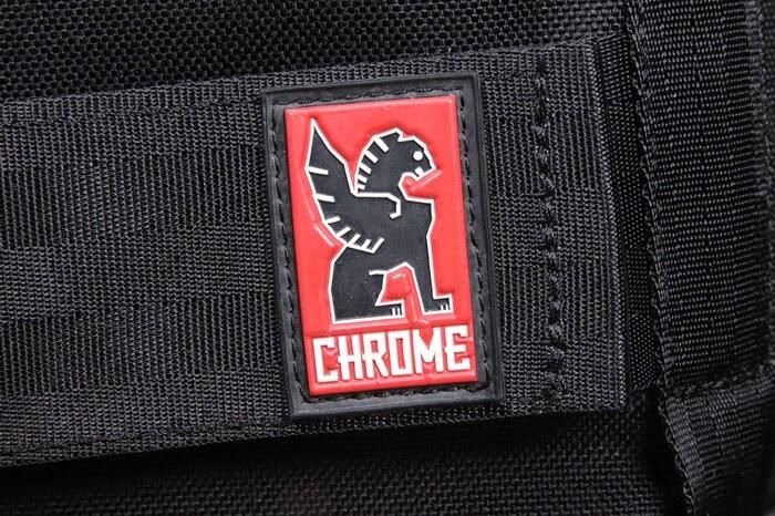CHROME(クローム)のバックパックのロゴ