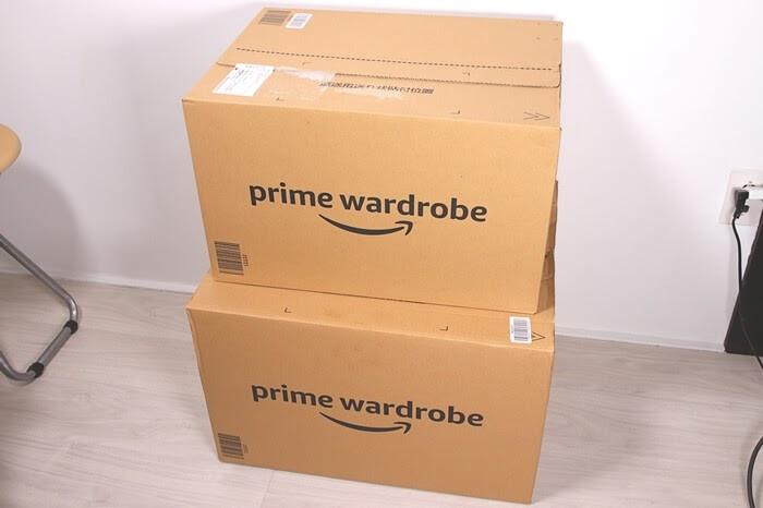 Amazon、プライム・ワードローブの箱