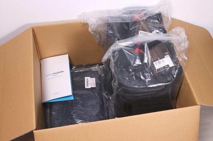 Amazonプライム・ワードローブで試着した商品を返却する