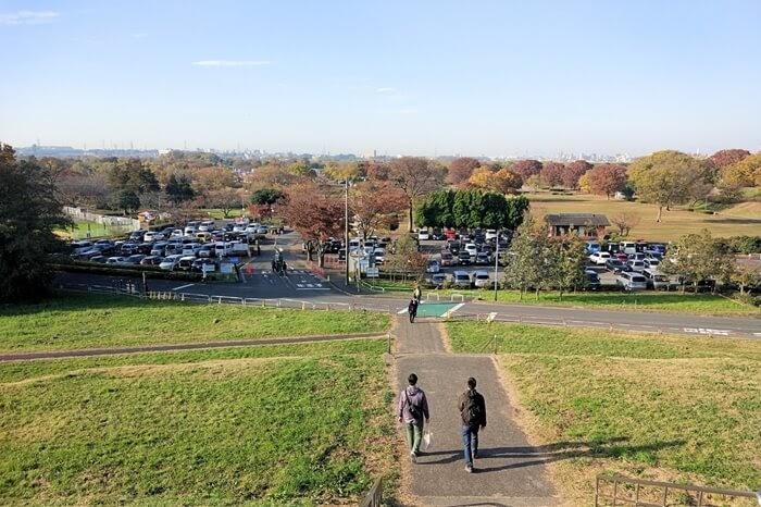 ワイズロード、スポーツバイクデモ in 埼玉 2018、彩湖・道満グリーンパークの駐車場