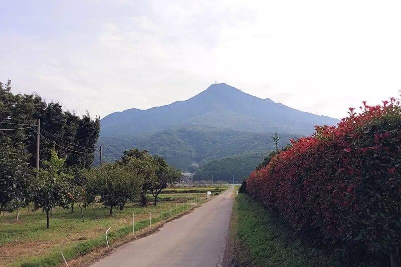 筑波山と周辺の風景