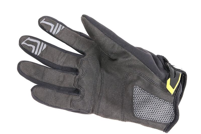 シマノ自転車用ウィンドブレークグローブの手のひら側