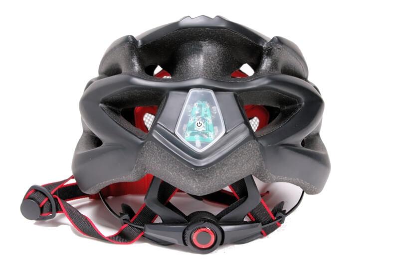 SHINMAX 自転車用ヘルメット 後ろ側