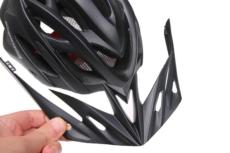 SHINMAX 自転車用ヘルメット付属のバイザー
