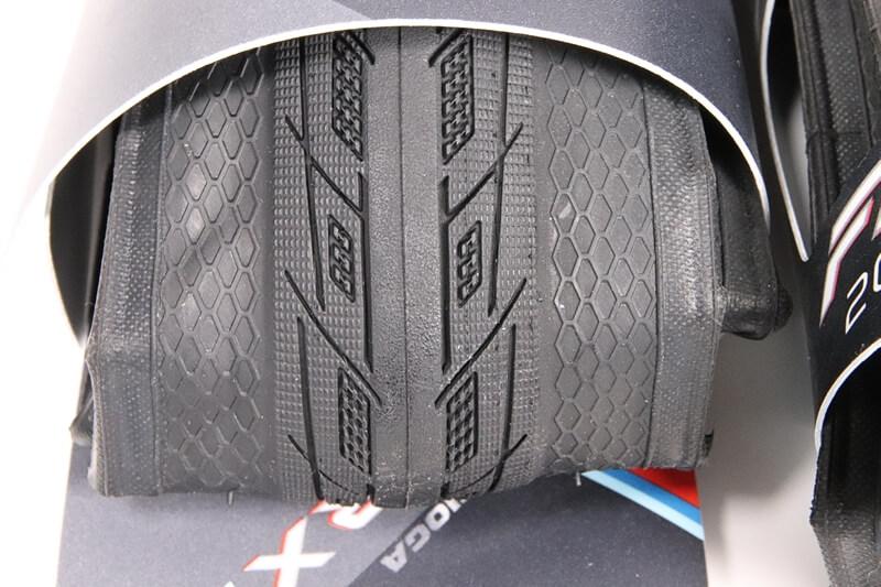 タイオガ ファストRXSスペック、タイヤの溝