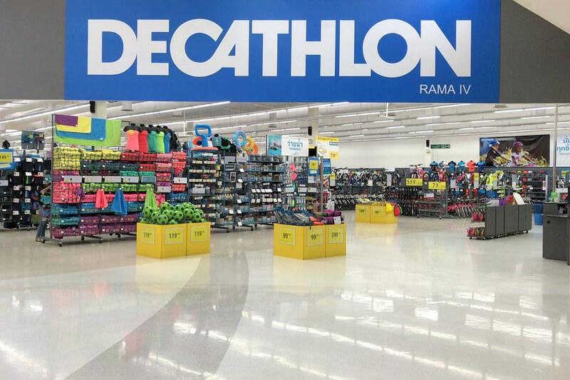 デカトロンの店舗