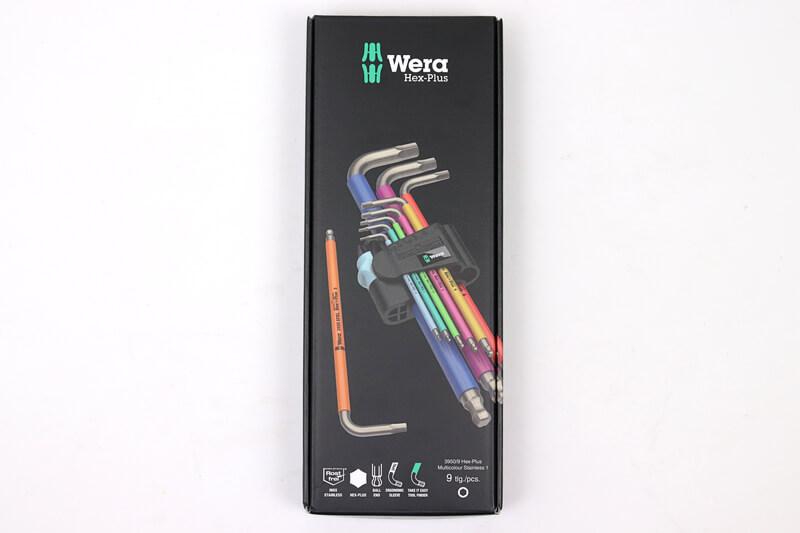 Wera 3950SPKL/9 ステンレス製 六角レンチの箱