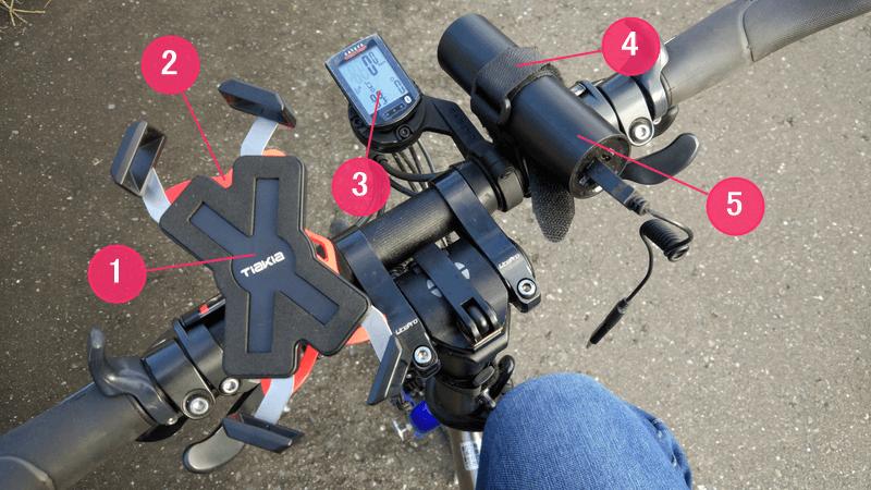 自転車でDQWをするために必要な道具